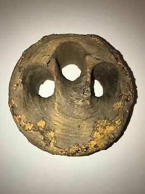Shipwrecked? Antique Wood Nautical Sailing Ship Dead Eye Pulley-Very Cool!