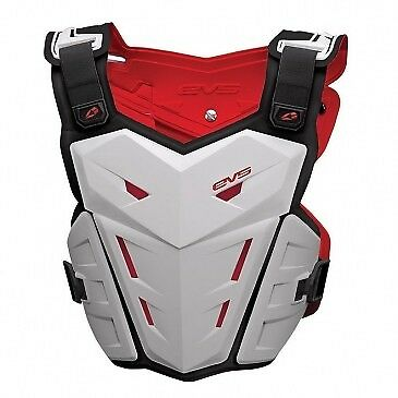 EVS F1 Chest Roost Protector Deflector White
