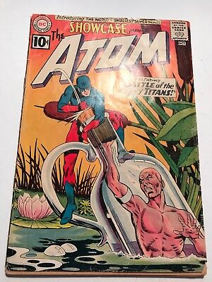 Showcase Presents #34 First Appearance Silver Age Atom Fr/gd