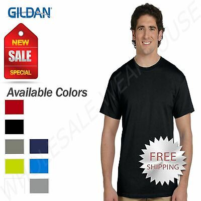Gildan Men's New TALL TEE 100%  Cotton  Short Sleeve T-Shirt XLT 2XLT 3XLT G200T