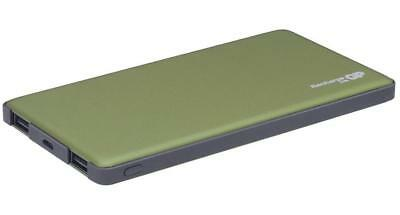 5000mAh Dual Port Power Bank Portable USB Charger, Green - GP BATTERIES