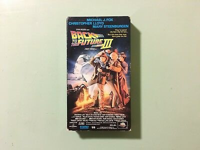 Back to the Future Part III - VHS Tape - Good Condition