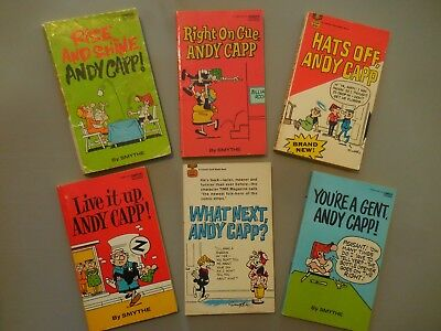 Andy Capp By Reg Smythe 6 Cartoon Humor Paperbacks 1295 Picclick