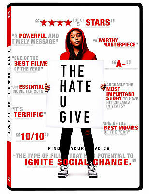 The Hate U Give New Dvd ( Pre-Order Ships On 01/22/2019 )