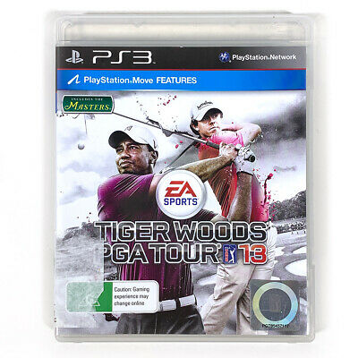 Tiger Woods PGA Tour 13 PS3 Sony Playstation 3 Includes the Masters