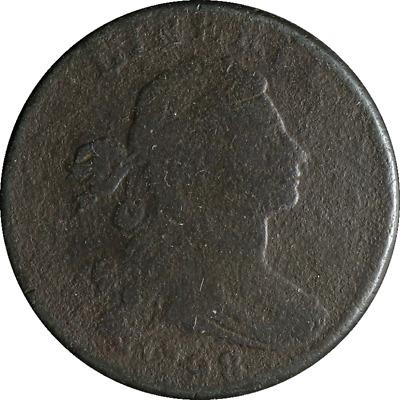 1798 Large Cent Style 2 Hair S.184 R.2- Great Deals From The Executive Coin Comp