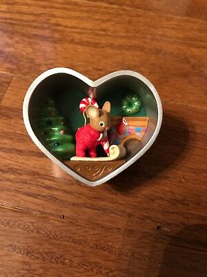 COOKIE CUTTER CHRISTMAS 2013 Hallmark Ornament Heart Mouse Series #2