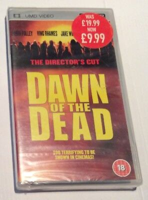 Dawn of the Dead THE DIRECTORS CUT Sony PSP UMD  very rare UK PAL*BRAND NEW!!!!*