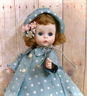 """Vintage Alexander Kins """"wendy Likes A Rainy Day"""" Doll By Madame Alexander 50's"""