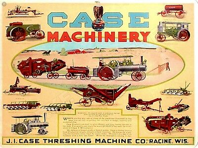 """CASE MACHINERY 9"""" x 12"""" Sign"""