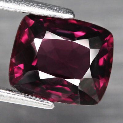 1.61Ct. Glittering! Antique Facet Raspberry Pink Natural Spinel, M'GOK