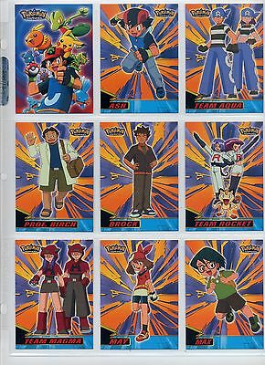 Complete Topps Pokemon Advanced Set from 2003! 90 'new from the pack' cards!