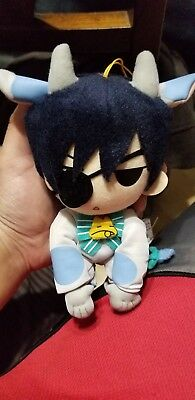"Plush - Black Butler - Ciel Cow New Soft Doll 8"" Toy Anime Licensed ge8999"