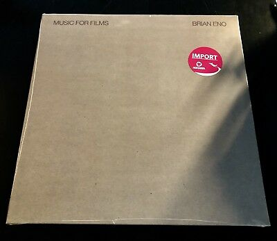 Brian Eno - Music For Films LP on Vinyl New-Sealed Import!