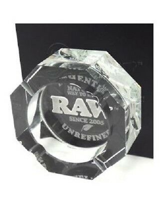 RAW Crystal Ashtray Tobacco Cigarette Water Rolling Billy Toker