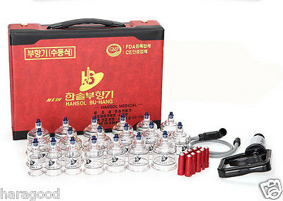 10 17 19 30 Set Chinese Cupping Vacuum Massage Medical Therapy Diet Acupuncture