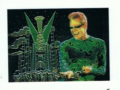 Batman Forever - Animaction Card - # 8 The Riddler - Fleer Ultra - 1995