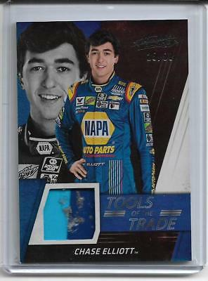 2017 Absolute 2 Color Race Used Sheet Metal Chase Elliott #'d 25/99 Sick Rub