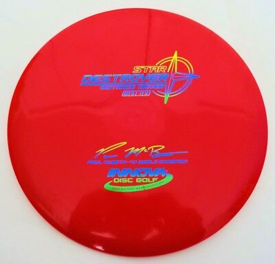 Innova Star Destroyer Paul McBeth 166g Red Disc Golf Distance Driver New
