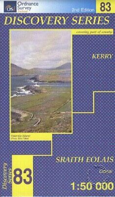 Kerry (Irish Discovery Maps Series)... by Ordnance Survey Irel Sheet map, folded