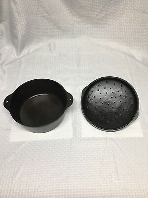 GRISWOLD CAST IRON NO. 8 TITE-TOP DUTCH OVEN #8 And 8A Lid. Lid Does Not Fit