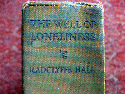 The Well of Loneliness, by Radcliffe Hall.  Covici Friede, 1929.  Sixth Printing