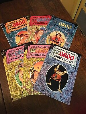 Groo Chronicles by Sergio Aragones 1-6 Complete Set