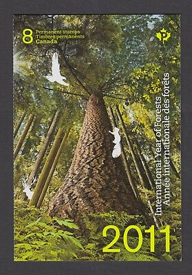 CANADA BOOKLET BK452 8 x 90c INTERNATIONAL YEAR OF FORESTS