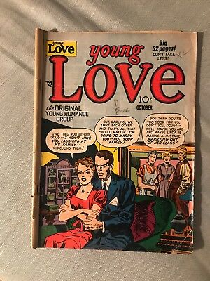 1950 Young Love Romance Comic Golden Age Crestwood Publishing