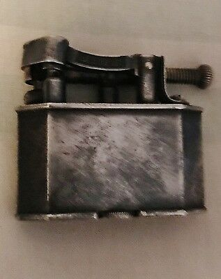 VERY RARE Vintage Dunhill Unique Lift Arm Lighter 390107  6 SIDED ,BEVELLED EDGE