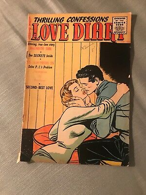 1955 Love Diary No 48 Romance Comic Golden Age Our Publishing