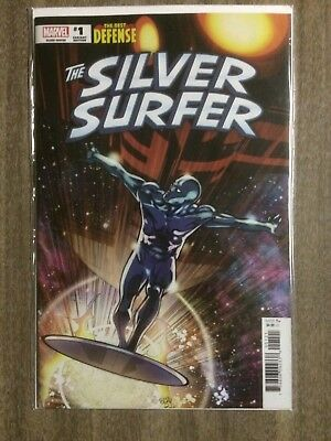Defenders Silver Surfer #1 Pasqual Ferry 1:50 Variant NM
