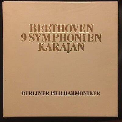 Karajan : Beethoven 9 Symphonien Numbered Autographed Limited Edition 9Lp Box