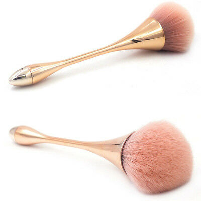 Rose Gold Powder Blush Face Brush Professional Make Up Brush Large Cosmetics