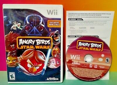 Angry Birds Star Wars  Nintendo Wii and Wii U Game 1-4 players can play