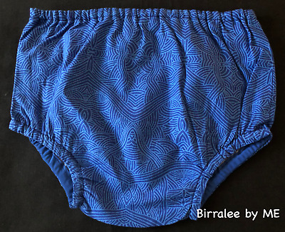 Nappy Pants Handmade by Birralee by ME using Aboriginal fabric Size 12-18Mths
