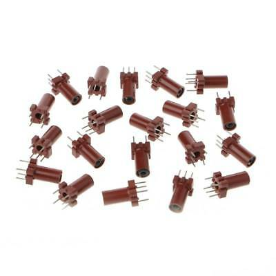 20 Pcs Inductor Shell Ferrite Skeleton Empty Core No Inductor Coil 25-100MHZ new