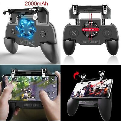Controller Game Joystick Cooling Fan PUBG Mobile Phone Gamepad for Android IOS
