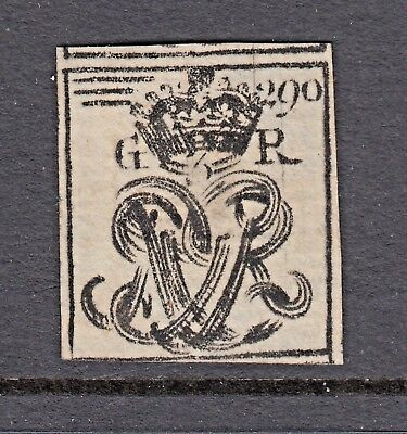 Royal Cypher - King George Iii - (2) - Great Britain - Cinderellas