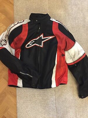 Alpinestars Motorcycle Bike Adventure Andes Drystar v2 Textile Jacket MEDIUM