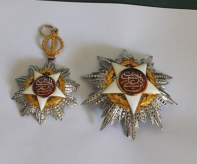 Jordan 1921 Order Of Independence Sash Breast Star And Neck Star's