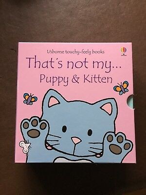 Usborne Thats Not My Cat And Puppy Book Set