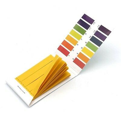 80 pH Test Paper 1-14 Universal Full Range Litmus Strips Tester Indicator Urine