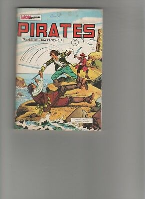 BD PIRATES N°53 Captain Rik Erik Gwenn Marok 1974 EDITIONS MON JOURNAL