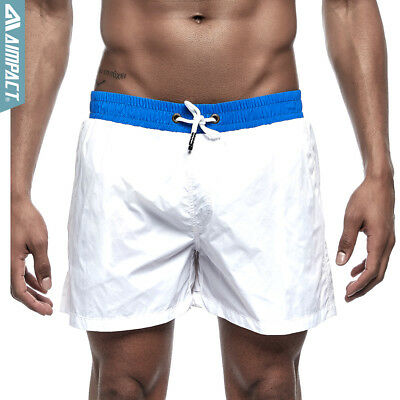 610017265a Men's Board Shorts Quick Dry Beachwear Shorts Summer Surfing Swimming Trunks