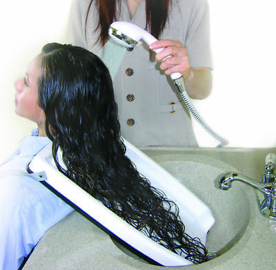 Hair Washing Tray Shampoo Rinse in Sink While Seated Home Salon Disability Aid*