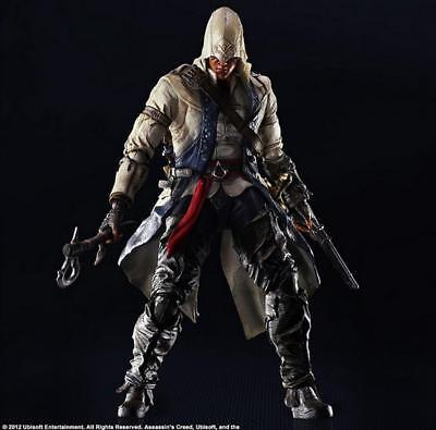 """Assassin's Creed III CONNOR KENWAY Play Arts Kai 10"""" Action Figure Square Enix"""