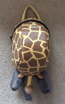Little Life Giraffe Back Pack For Toddler With Lead
