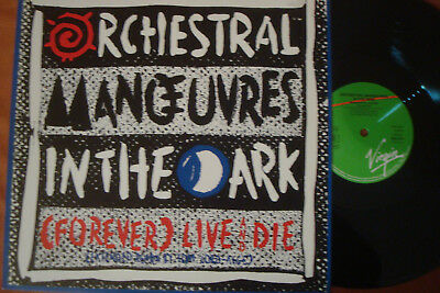 """Omd - (Forever) Live And Die - Extended - 12"""" Maxi !!!"""