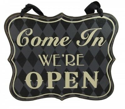 Heaven Sends Chic Reversible Open And Closed Sign - Women`s Gift Idea